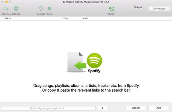 Add Songs From Spotify
